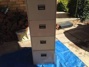 4 Drawer Filing Cabinet Mitcham Whitehorse Area Preview