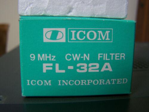 ICOM FL-32A Narrow 500 Hz CW 9 MHz IF Crystal Bandwidth Filter