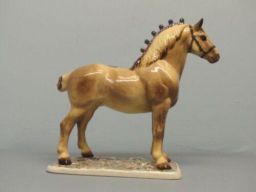 Nice Palomino  Hagen Renaker DW Draft Horse Cinco #13