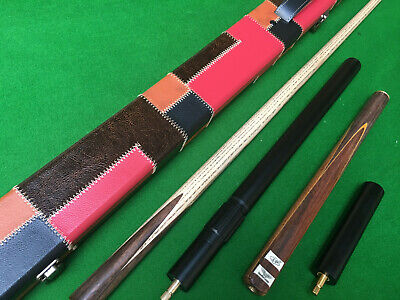 New 3/4 LP Champion Cue Handmade Ash Snooker Cue set With Case Extension