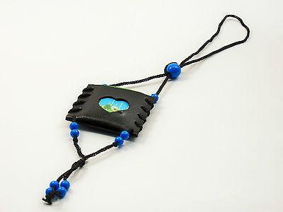 Car Hanging Mini Quran Selected Surah Islamic Gift Black Leather Muslim Prayer