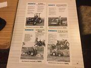 Hinomoto tractor brochures Ashbourne Alexandrina Area Preview