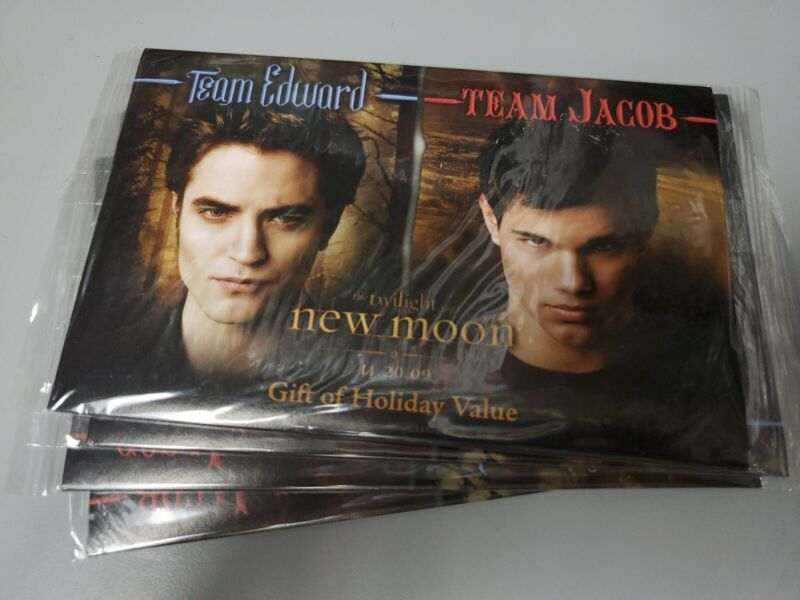 09 TWILIGHT SAGA NEW MOON BURGER KING GIFT of HOLIDAY PROMO PACK MINT IN PACKAGE