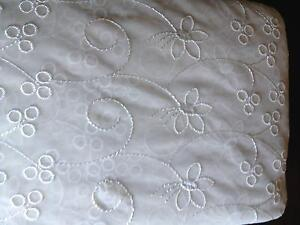 Cream Continuous 100% Polyester Lace Curtain Pine Mountain Ipswich City Preview