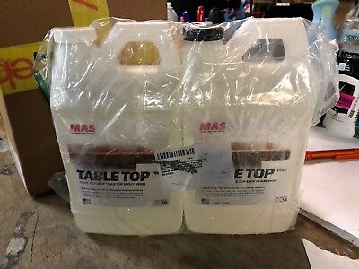 Crystal Clear Epoxy Resin One Gallon Kit Mas Table Top Pro Epoxy Resin  Two
