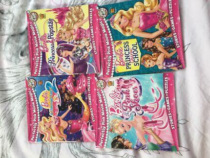 Girls assorted books barbie princes , spot the dog