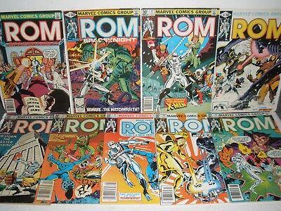 Marvel Comics ROM # 15 16 17 18 19 20 21 22 23 Nice Run X-Men