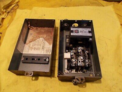Nema 0 Motor Starter C-h Usa A10bn0 Electric Contactor Machine Control Switch