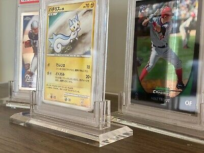 ACRYLIC PSA GRADED CARD HOLDER STAND DISPLAY * PERFECT FIT * Sports Pokemon