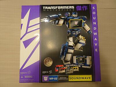 Transformers Masterpiece Soundwave MP-02 TRU Laserbreak Buzzsaw Rumble Ravage