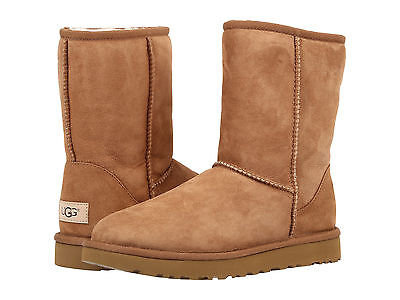 (NEW WOMEN BOOT UGG CLASSIC SHORT II CHESTNUT 1016223 FREE SHIPPING)
