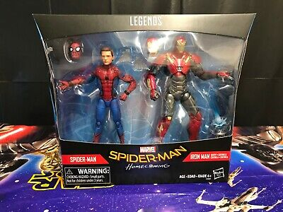 "SPIDER-MAN & SENTRY IRON MAN Homecoming Marvel Legends 6"" Figure 2-pack 2017"