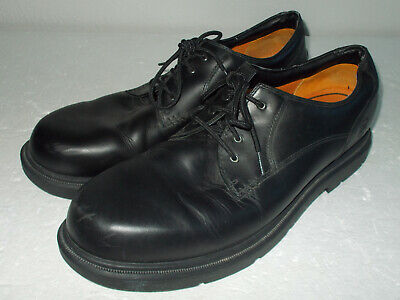 Timberland Black Leather Oxford Waterproof Shoes Men Size 15M