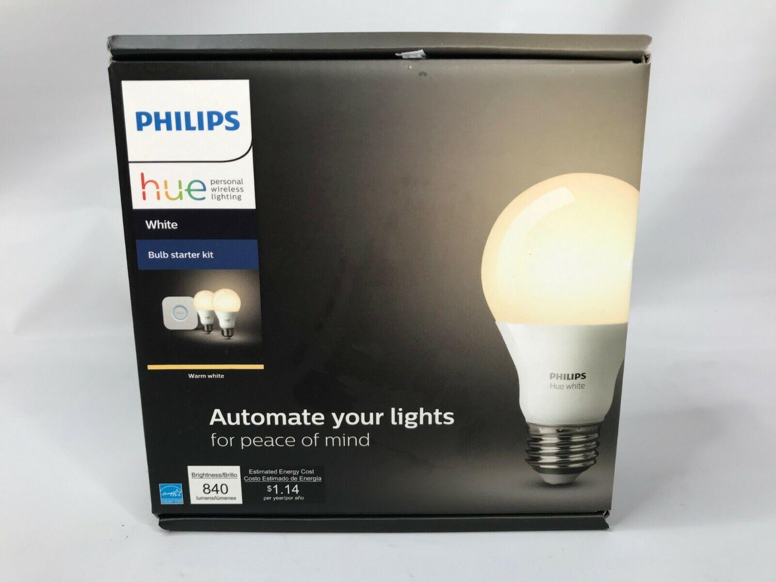 Philips Hue White E26 Starter Kit