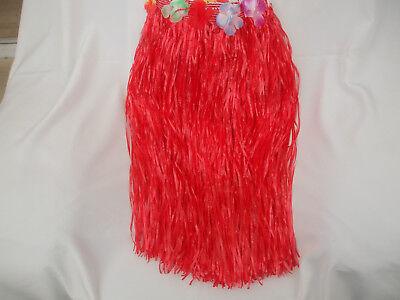 Ladies Hoola Skirt Red, Mixed Coloured Flowers Around Waistline New](Hoola Skirts)