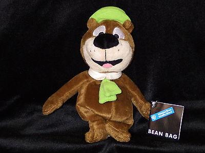 Yogi Bear bean bag plush toy Hanna Barbera Warner Store new with tags RARE
