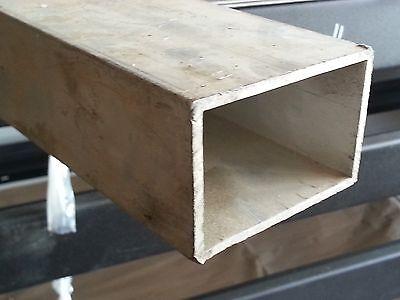 1 Aluminum Square Tube 6063 T5 .125 Wall X 60