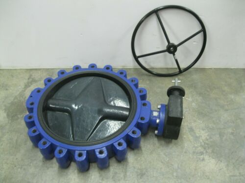 "20"" 150# Crane RS Center Line AXKN5E1AAG Lug Butterfly Valve CI NEW Z6 (2593)"
