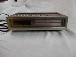 Retro YORX Telephone AM/FM Radio electronic digital Alarm Clock Model R514B