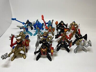Fisher Price Great Adventures Toy 20 Knight King Figures Gold Black 1994 1995