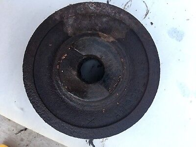 Allis Chalmers B C Ca Tractor Ac 1949 Crank Shaft Pulley.