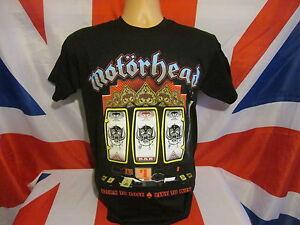 MOTORHEAD-SLOTS-Official-Mens-HEAVY-METAL-BIKER-PUNK-SKINHEAD-T-Shirt