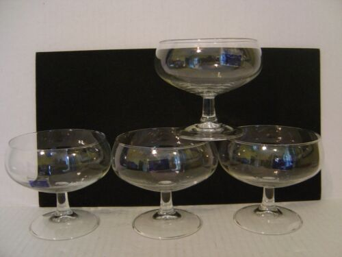 SET OF 4 FARBERWARE THE ROYALE COLLECTION 14 OZ. STEMMED DESSERT DISHES HOLLAND