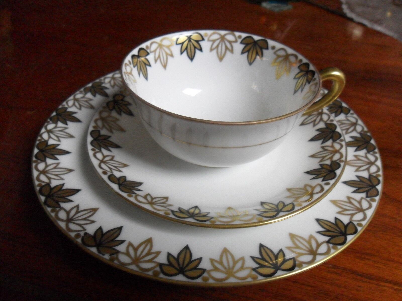 reinhold schlegelmilch r s tillowitz trio cup saucer plate epos