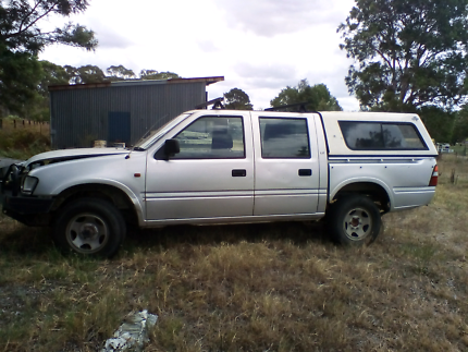 2001 holden rodeo  4x4