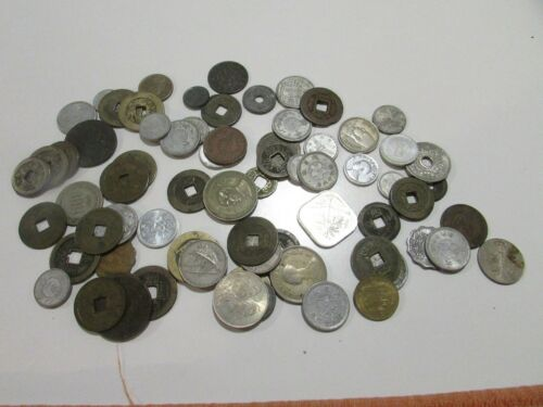 Large Collection of Asian Collector Coins L-100