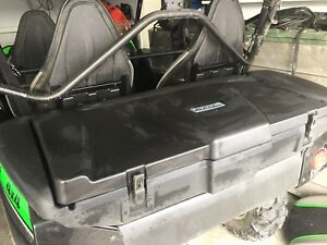 Kawasaki teryx 4 rear storage box west Kelowna