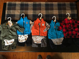 0-3 month Carters boys outfits