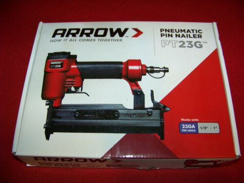 Arrow Fastener PT23G Arrow 23GA Pneumatic Pin Nailer