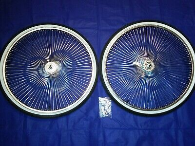 """Lowrider//Cruiser 20/"""" Bicycle Fenders Tricycle Converted Chrome 3pc"""