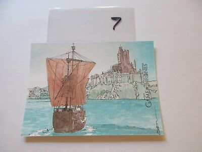 Game of Thrones Valyrian Steel Color Sketch Card by Roy Cover - 07