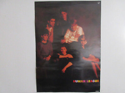 Human League Japan Promo Poster by Victor Japan Heaven 17 80