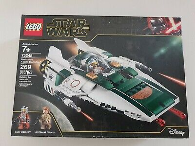 LEGO 75248 Star Wars: The Rise of Skywalker Resistance A-Wing Starfighter 269 Pc