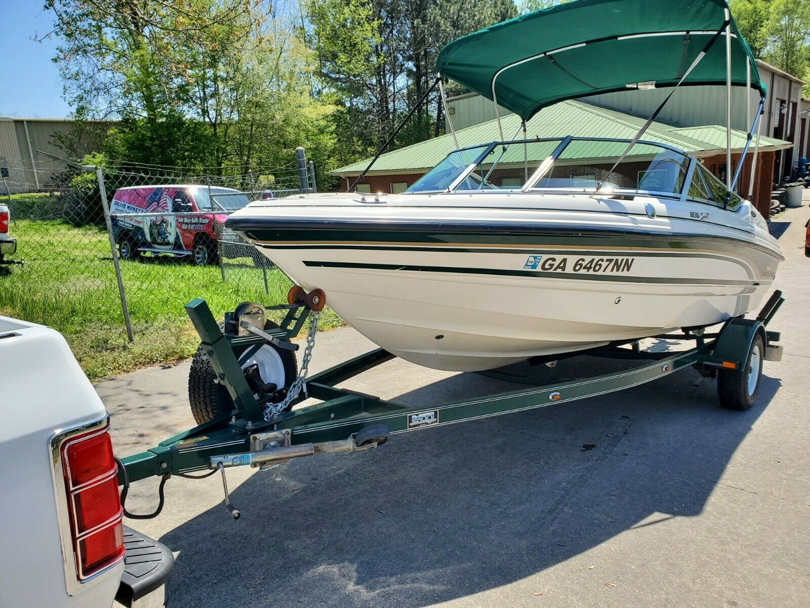 1999 Chaparral 20' bow rider with MTI trailer, EXTRAS Bayliner, SEA RAY, NICE!!!