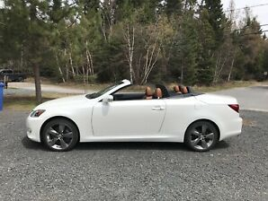 Lexus is350c 2011 convertible