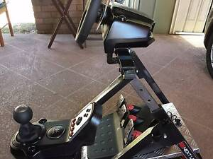 Logitech G27 Wheel System + Next Level Racing Stand Morayfield Caboolture Area Preview
