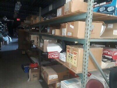 Pallet Rack Lot Of 4 8 Tear Drop Shelf Beams 2-8 Uprights. Read Below First