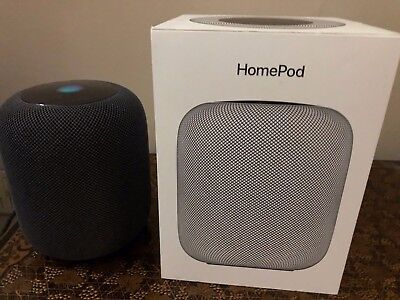 Apple HomePod Space Grey Speaker Boxed - AirPlay 2 and Siri