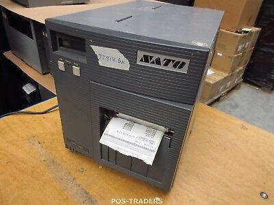 """SATO CL408E Parallel Thermo Label Drucker REWINDER 203dpi 4.1"""" 104mm - 22914.6 M"""
