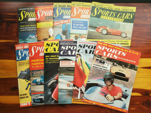 Sports Cars Illustrated (Car and Driver) Magazines 1957