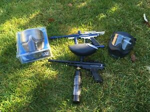 Paintball guns package