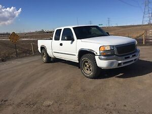 2003 GMC Sierra 4x4 extended cab tow package brake controller