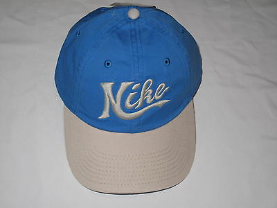 NWT NIKE baseball cap hat women or men adult unisex ONE SIZE FITS blue