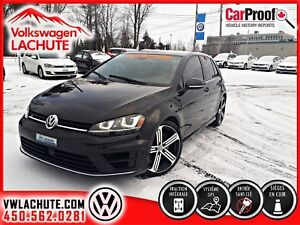 2017 Volkswagen Golf R ENSEMBLE TECH + 6 V + NAV + !! 292 HP !!