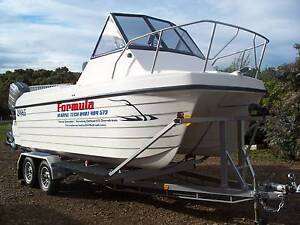 Open to offers...Boat, Devil Cat 5.0m, outboard, fishing, trailer Old Beach Brighton Area Preview