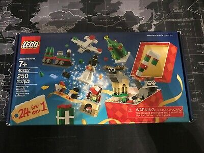 LEGO 24-in-1 Holiday Countdown/Christmas Build Up Set (40253) Brand New MISB FS